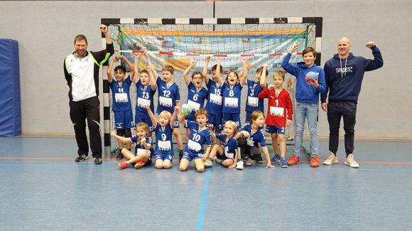 Erfolgreicher Jahresauftakt der HSG F-Jugend