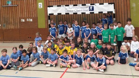 Erfolgreiches Mini-Spielfest und F-Jugend Turnier