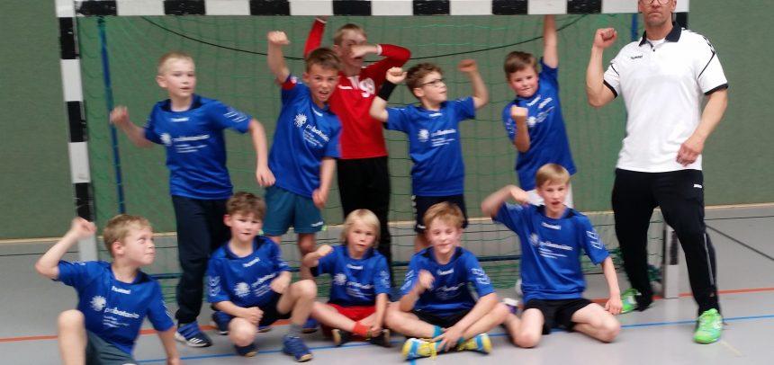 E1- Jugend zum dritten Mal in Folge Turniersieger in Merl