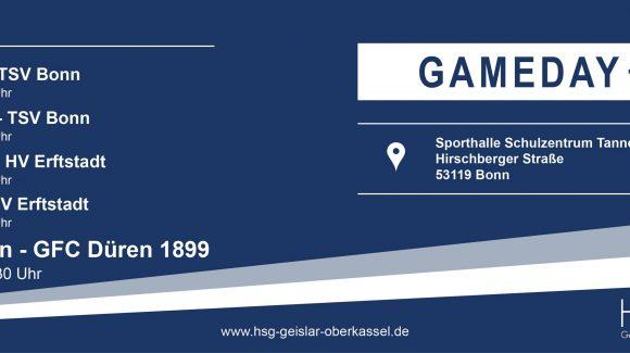 Heimspielauftakt: HSG Geislar-Oberkassel – SG GFC Düren 1899