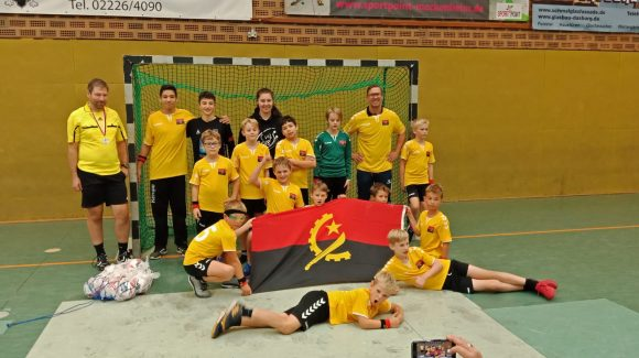HVM Handball Mini WM – Vorrundengruppe D (HSG Angola)