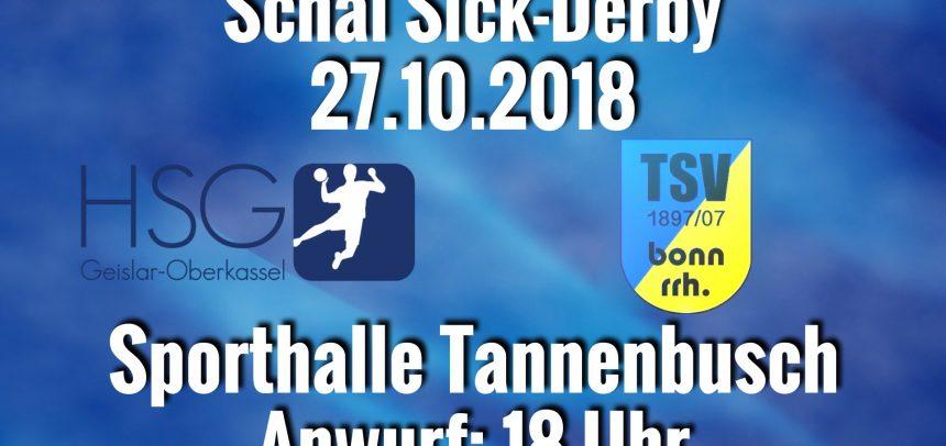 Schäl Sick Derby im linksrheinischen Tannenbusch