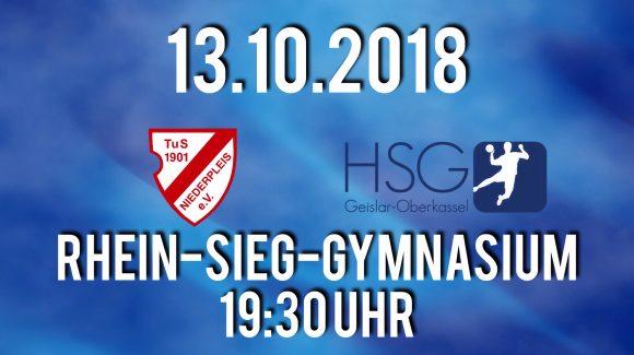 HSG möchte bei TuS Niederpleis wieder Punkte sammeln