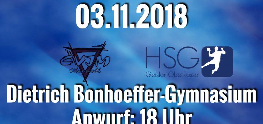 HSG möchte gegen Oberwiehl Auswärtsserie ausbauen