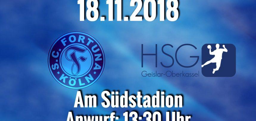Erste Herrenmannschaft mit Auswärtsspiel in Köln