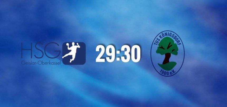 HSG verliert nach 10-Tore-Aufholjagd erstes Spiel in Beuel-Ost knapp