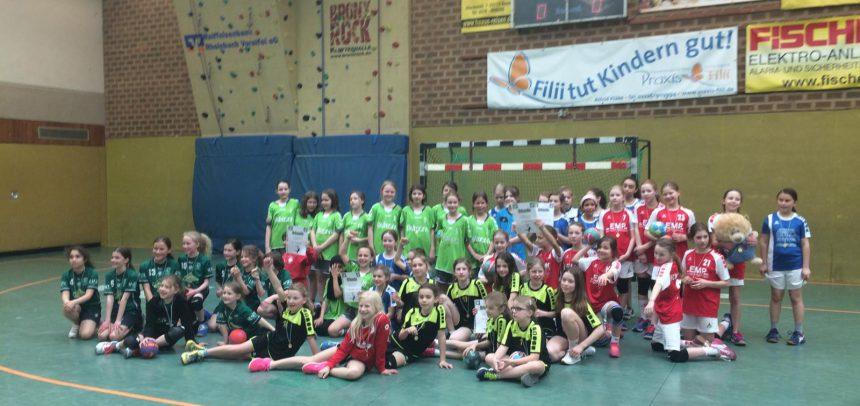 Gelungener Saisonabschluss der wE beim Girls Cup in Rheinbach