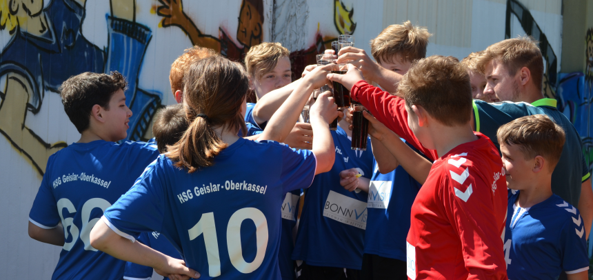Neuformierte C Jugend fährt Doppelsieg beim Merle-Cup ein