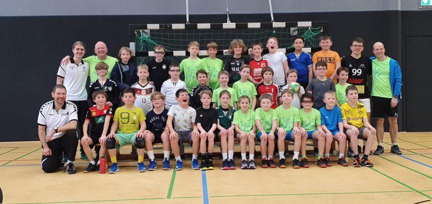 Training und Turnier im E-Jugend Spitzenbereich