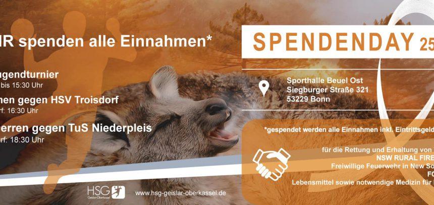 HSG bittet Niederpleis zum Spenden-Derby